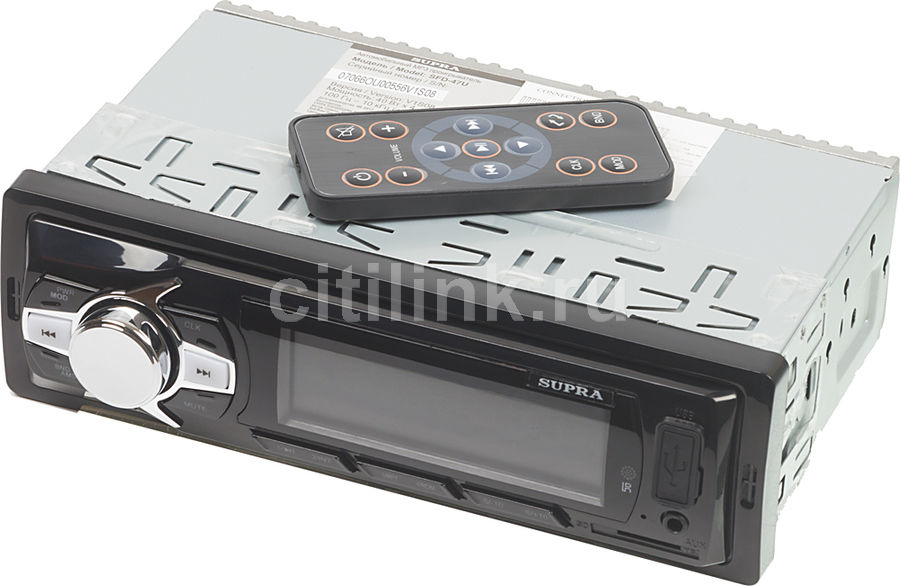 Автомагнитола SUPRA SFD-47U,  USB,  microSD