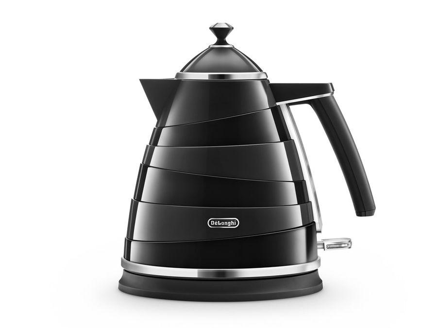 Чайник электрический DELONGHI KBA2001.BK, 2000Вт, черный