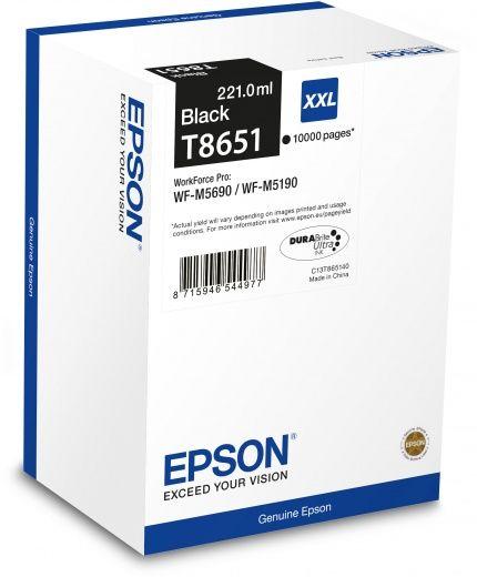 Картридж EPSON T8651 черный [c13t865140]