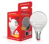 Лампа SUPRA SL-LED-ECO-G45, 5Вт, 400lm, 25000ч,  3000К, E14,  1 шт. [10225] вид 1