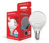 Лампа SUPRA SL-LED-ECO-G45, 5Вт, 400lm, 25000ч,  4000К, E14,  1 шт. [10227] вид 1