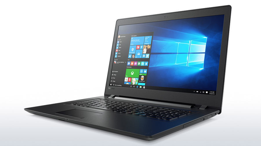 Ноутбук LENOVO IdeaPad 110-17ACL, 17.3, AMD A6 7310 2.4ГГц, 4Гб, 500Гб, AMD Radeon R4, DVD-RW, Windows 10, черный [80um003drk] ноутбук lenovo ideapad 320 15ast 15 6 1920x1080 amd a9 9420 1 tb 128 gb 4gb amd radeon 530 2048 мб черный windows 10 home 80xv00s2rk