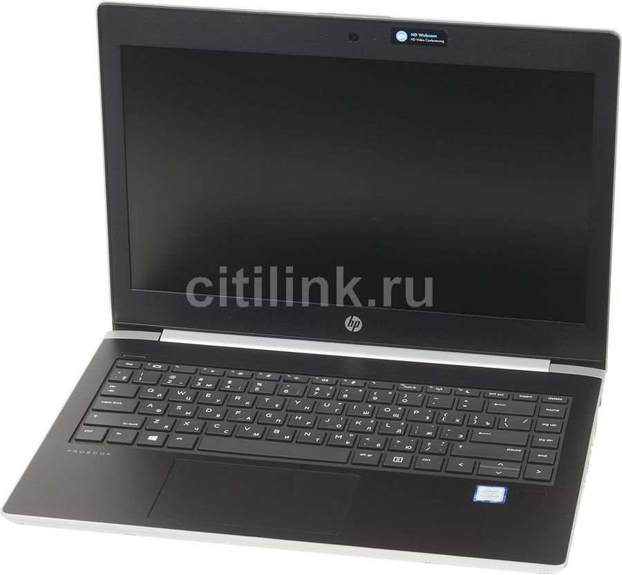 Ноутбук HP ProBook 430 G5, 13.3, Intel Core i3 7100U 2.4ГГц, 4Гб, 128Гб SSD, Intel HD Graphics 620, Free DOS 2.0, 2SY15EA, серебристый ноутбук hp 15 bs027ur 1zj93ea core i3 6006u 4gb 500gb 15 6 dvd dos black