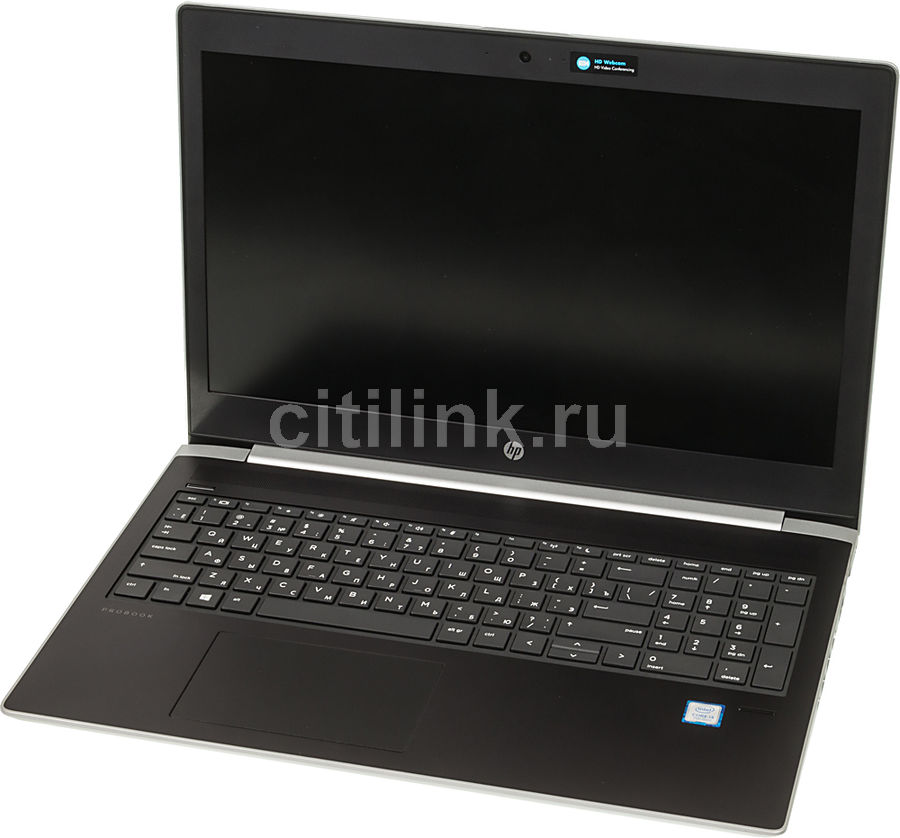 Ноутбук HP ProBook 450 G5, 15.6, Intel Core i3 7100U 2.4ГГц, 4Гб, 500Гб, Intel HD Graphics 620, Free DOS 2.0, 2RS25EA, серебристый ноутбук hp probook 430 g5 13 3 intel core i5 8250u 1 6ггц 4гб 500гб intel hd graphics 620 free dos 2 0 2sx96ea серебристый