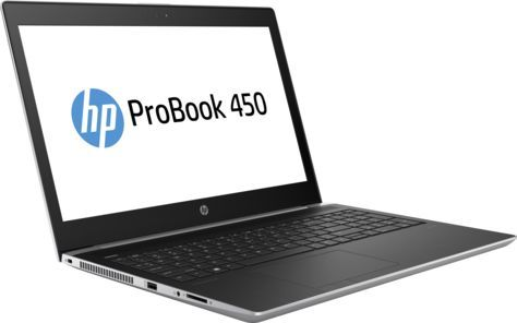 Ноутбук HP ProBook 450 G5, 15.6, Intel Core i3 7100U 2.4ГГц, 4Гб, 128Гб SSD, Intel HD Graphics 620, Windows 10 Professional, серебристый [2sy27ea]Ноутбуки<br>экран: 15.6;  разрешение экрана: 1920х1080; тип матрицы: UWVA; процессор: Intel Core i3 7100U; частота: 2.4 ГГц; память: 4096 Мб, DDR4, 2400 МГц; SSD: 128 Гб; Intel HD Graphics 620; WiFi;  Bluetooth; HDMI; WEB-камера; Windows 10 Professional<br><br>Линейка: ProBook