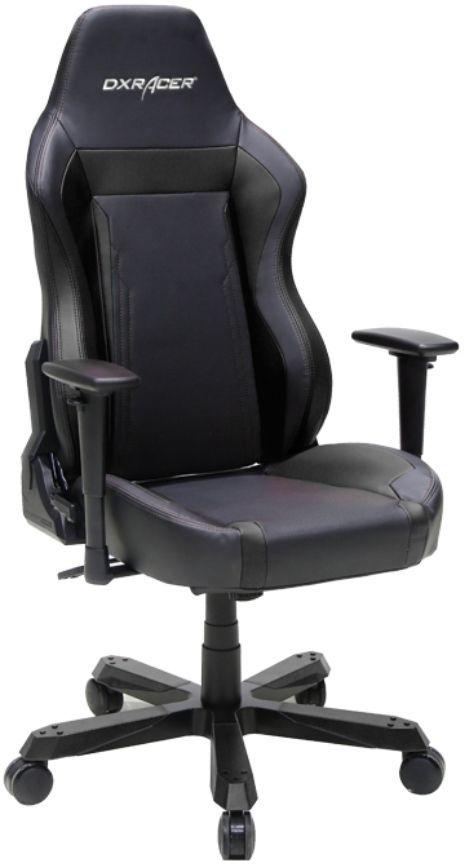 Кресло игровое DXRACER Work GC-W06-N-Z2, на колесиках, эко.кожа [oh/wz06/n]