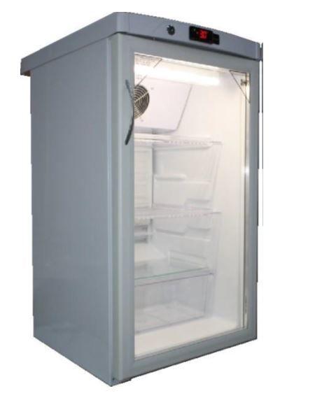 Холодильная витрина САРАТОВ 505-02,  однокамерный, белый
