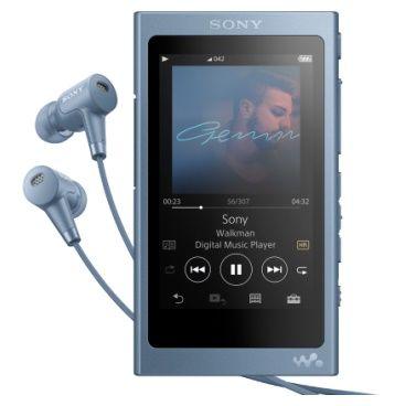 MP3 плеер SONY NW-A45HN flash 16Гб синий [nwa45hnl.ee]