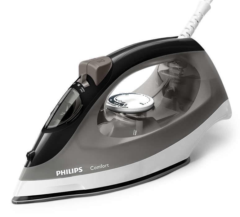Утюг PHILIPS GC1444/80,  2000Вт,  серый/ черный