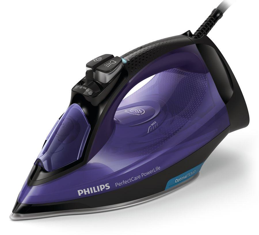 Утюг PHILIPS GC3925/30,  2500Вт,  синий/ черный