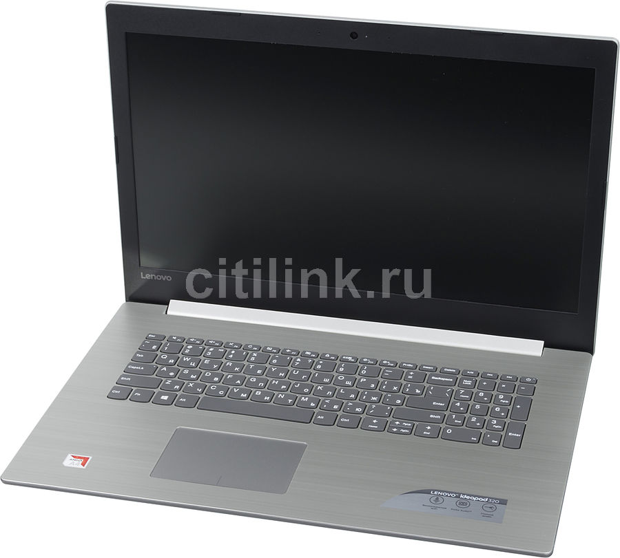 Ноутбук LENOVO IdeaPad 320-17AST, 17.3, AMD A4 9120 2.2ГГц, 4Гб, 500Гб, AMD Radeon R3, DVD-RW, Windows 10, 80XW002URK, серыйНоутбуки<br>экран: 17.3;  разрешение экрана: 1600х900; процессор: AMD A4 9120; частота: 2.2 ГГц (2.5 ГГц, в режиме Turbo); память: 4096 Мб, DDR4, 2133 МГц; HDD: 500 Гб, 5400 об/мин; AMD Radeon R3; DVD-RW; WiFi;  Bluetooth; HDMI; WEB-камера; Windows 10<br><br>Линейка: IdeaPad
