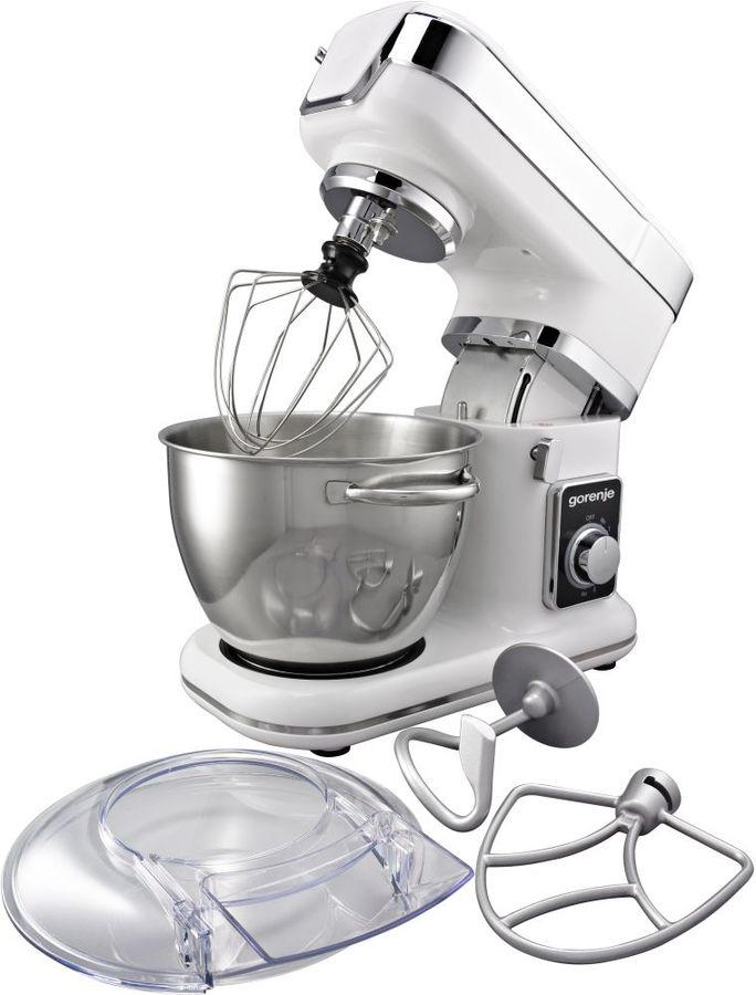 Кухонная машина GORENJE MMC800W,  белый / серебристый