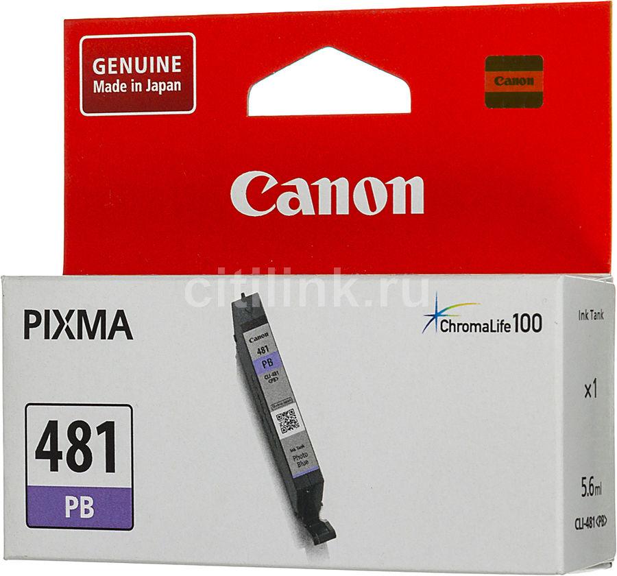 Картридж CANON CLI-481 PB фото голубой [2102c001]