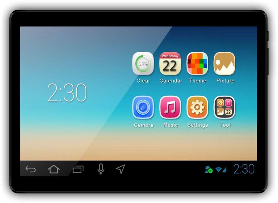 Планшет IRBIS TZ960,  1GB, 8GB, 3G,  Android 7.0 черный