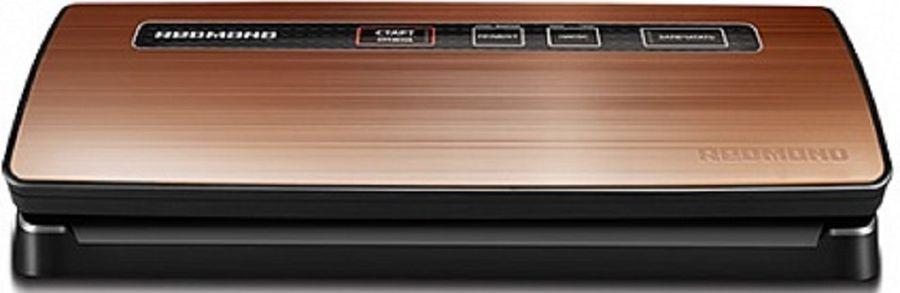 Вакуумный упаковщик Redmond RVS-M020 120Вт бронза/черный
