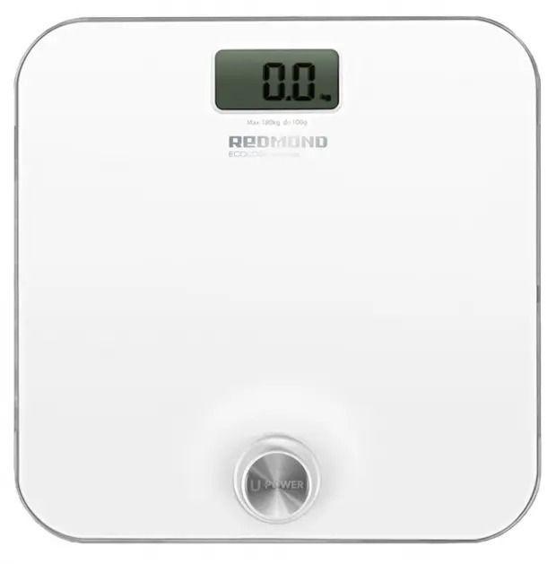 Напольные весы REDMOND RS-750, до 180кг, цвет: белый