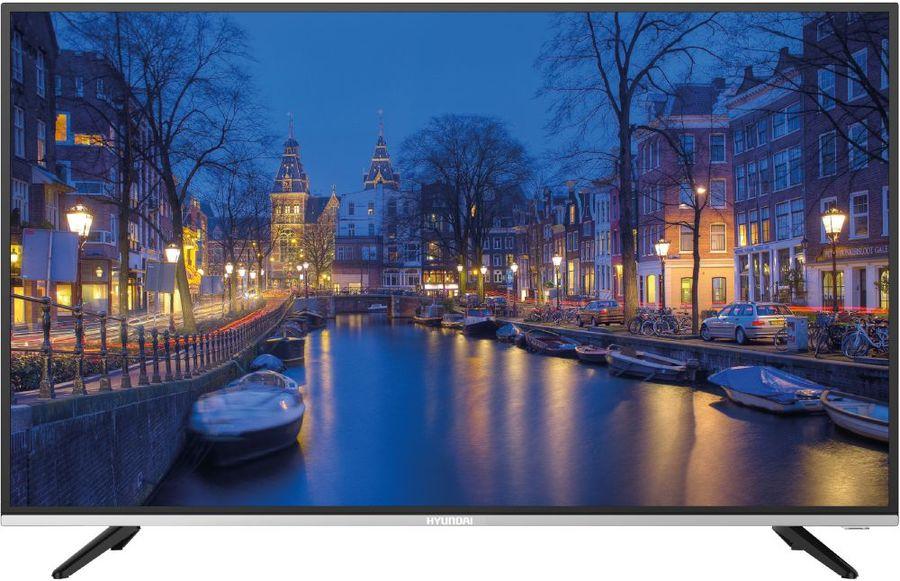 "LED телевизор HYUNDAI H-LED39R401BS2  ""R"", 39"", HD READY (720p),  черный/ серебристый"