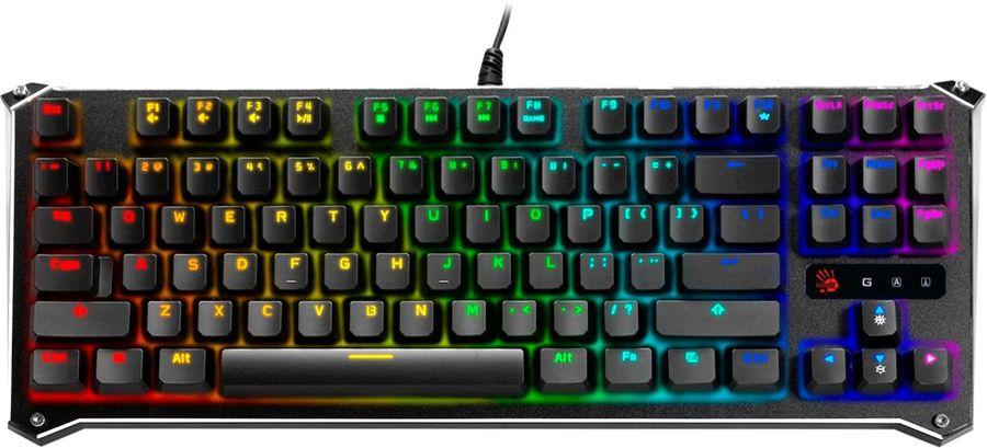 Клавиатура A4 B930,  USB, черный