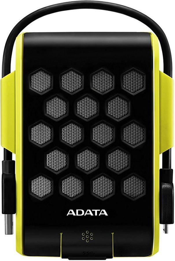 Внешний жесткий диск A-DATA DashDrive Durable HD720, 2Тб, зеленый [ahd720-2tu3-cgr]