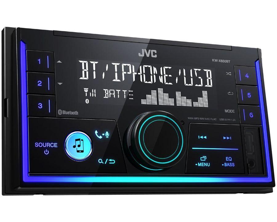 Автомагнитола JVC KW-X830BT,  USB