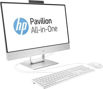 "Моноблок HP Pavilion 24-x007ur, 23.8"", Intel Core i7 7700T, 8Гб, 1000Гб, Intel HD Graphics 630, Free DOS 2.0, белый [2mj58ea]"