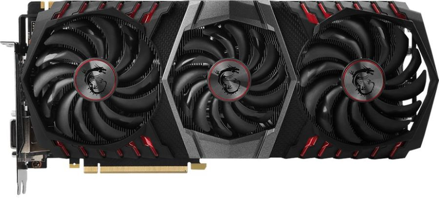 Видеокарта MSI GeForce GTX 1080Ti,  GTX 1080 Ti GAMING X TRIO,  11Гб, GDDR5X, OC,  Ret