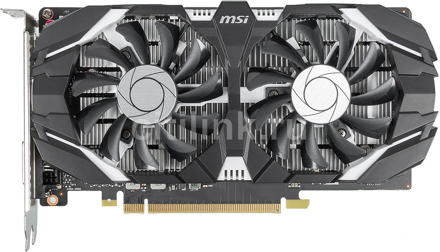 Видеокарта MSI nVidia  GeForce GTX 1050 ,  GeForce GTX 1050 2GT OCV1,  2Гб, GDDR5, OC,  Ret