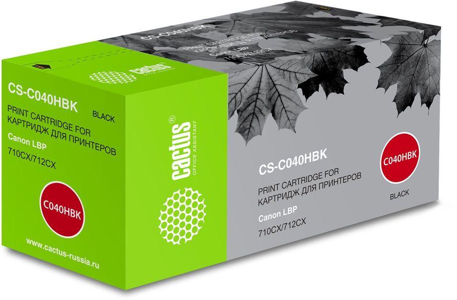 картридж CACTUS CS-C040HBK черный