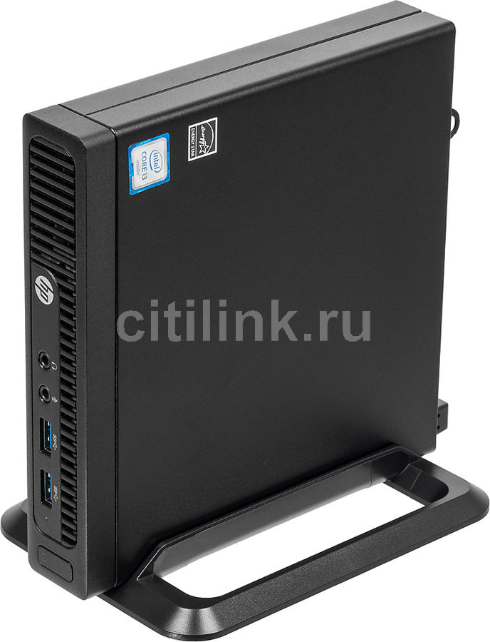 Компьютер HP 260 G2, Intel Core i3 6100U, DDR4 4Гб, 1000Гб, Intel HD Graphics 520, Windows 10 Professional, черный [3eb87es] new intel core i3 7100u i5 7200u fanless intel skylake mini pc intel hd graphics 620 4k hdmi vga usb3 0 sd card desktop computer