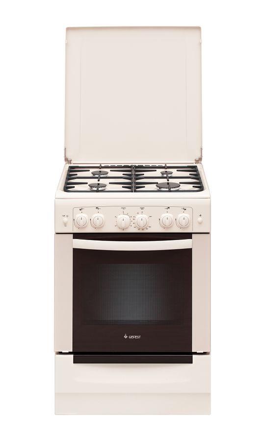 Газовая плита GEFEST ПГ 6100-02 0167,  газовая духовка,  бежевый