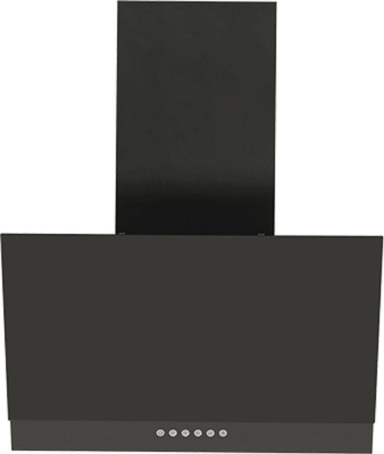 Вытяжка каминная Elikor Рубин S4 60П-700-Э4Д антрацит/черное стекло управление: кнопочное (1 мотор)