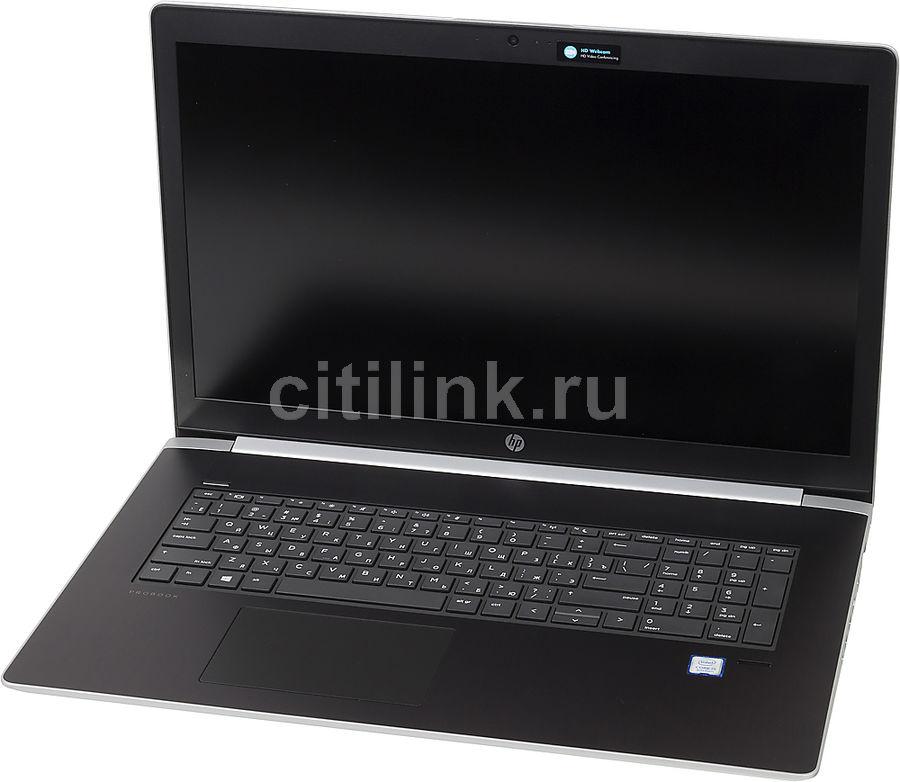 """Ноутбук HP ProBook 470 G5, 17.3"""",  Intel  Core i5  8250U 1.6ГГц, 8Гб, 256Гб SSD,  nVidia GeForce  930MX - 2048 Мб, Windows 10 Professional, 2RR73EA,  серебристый"""