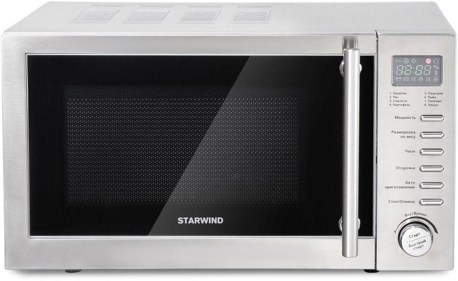 Микроволновая Печь Starwind SMW5220 20л. 700Вт нержавеющая сталь