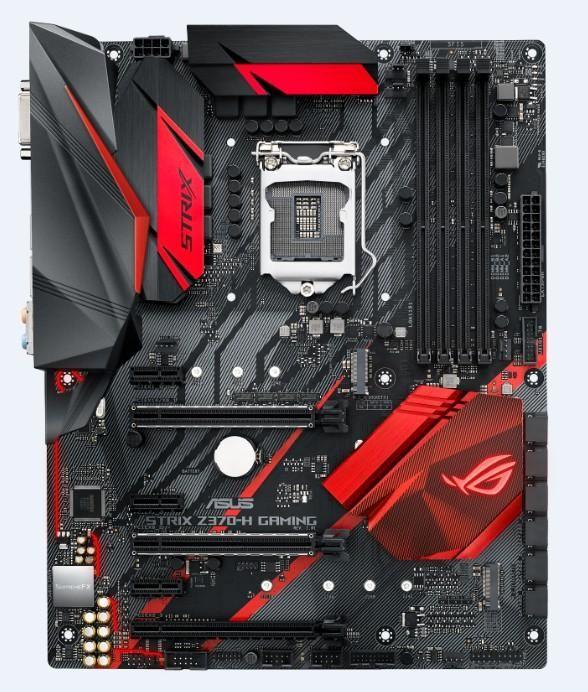 Материнская плата ASUS ROG STRIX Z370-H GAMING, LGA 1151v2, Intel Z370, ATX, Ret