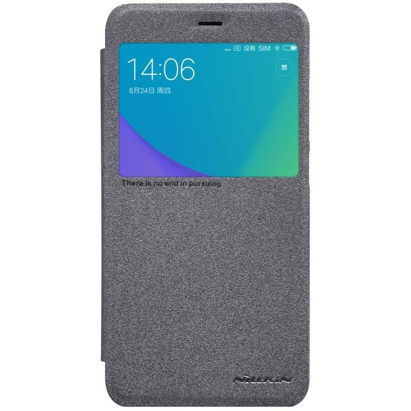 Чехол (флип-кейс)  Nillkin Sparkle, для Xiaomi Redmi Note 5A, черный