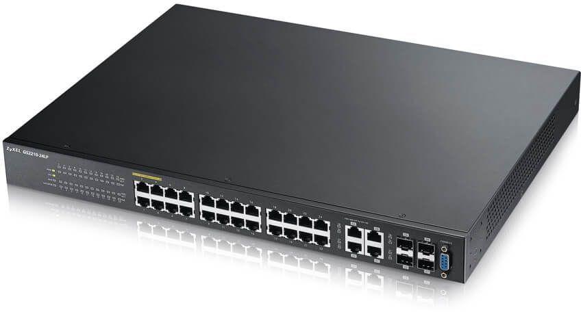 Коммутатор ZYXEL GS2210-24LP-EU0101F, GS2210-24LP-EU0101F