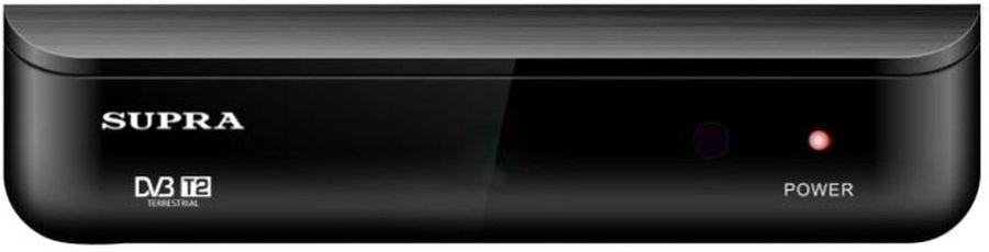 Ресивер DVB-T2 SUPRA SDT-88, черный