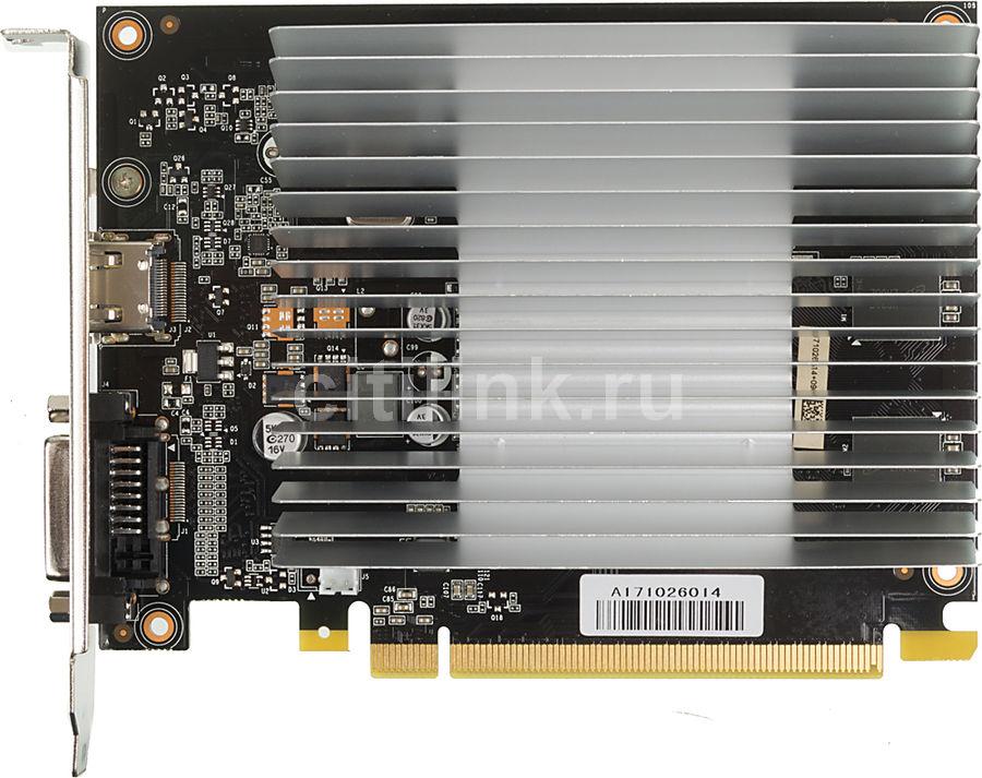 Видеокарта PALIT nVidia  GeForce GT 1030 ,  PA-GT1030-2GD5 KalmX,  2Гб, GDDR5, Ret [ne5103000646-1081h]
