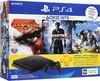 Игровая консоль SONY PlayStation 4 Slim с 500 ГБ памяти, с играми: God of War, Uncharted 4, Horizon: Zero Dawn и подпиской PlayStation Plus 3-месяца,  CUH-2108A, черный вид 1