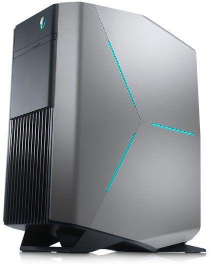 Компьютер DELL Alienware Aurora R7, Intel Core i7 8700, DDR4 16Гб, 2Тб, 256Гб(SSD), NVIDIA GeForce GTX 1080 - 8192 Мб, DVD-RW, Windows 10 Home, черный [r7-6096] ноутбук hasee 14 intel i3 3110m dvd rw nvidia geforce gt 635m intel gma hd 4000 2 g k460n