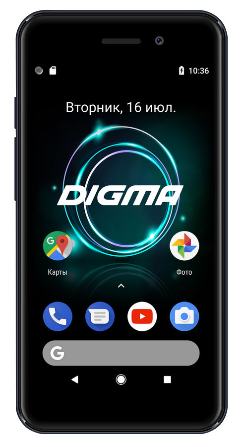 Смартфон DIGMA A453 3G Linx,  серый