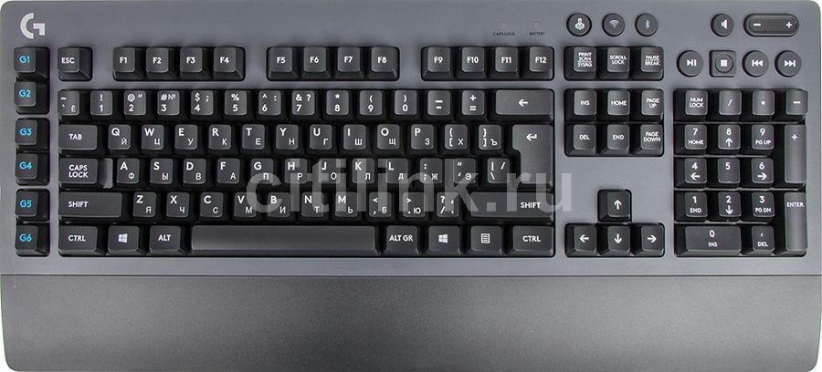 Клавиатура LOGITECH G613,  USB, беспроводная, черный [920-008395]