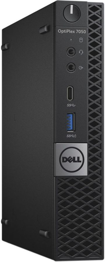 Компьютер DELL Optiplex 7050, Intel Core i7 7700T, DDR4 8Гб, 500Гб, Intel HD Graphics 630, Windows 10 Professional, черный [7050-8350] компьютер dell optiplex 7050 intel core i5 6500t ddr4 8гб 1000гб intel hd graphics 530 windows 10 professional черный [7050 2592]