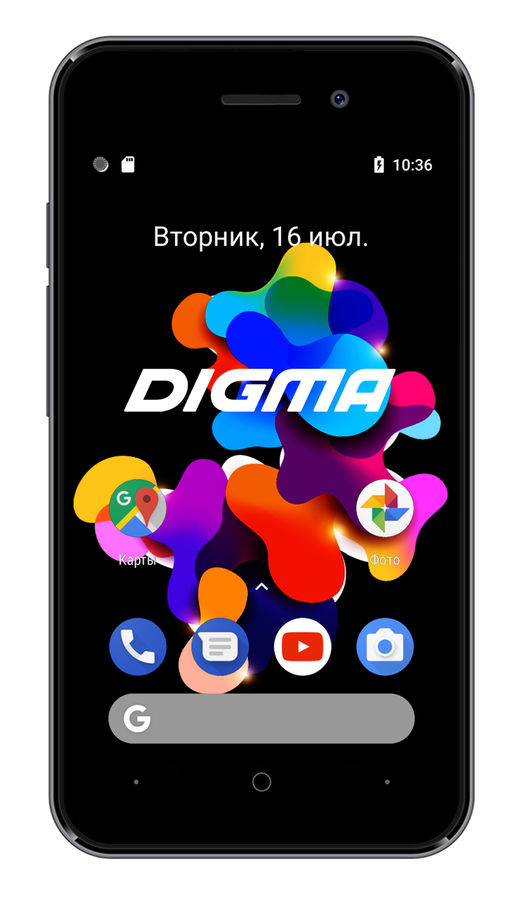 Смартфон DIGMA HIT 8Gb, Q401 3G, серый титан смартфон 5 digma vox s505