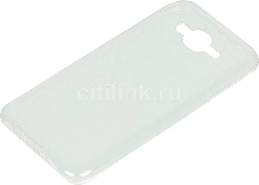 Чехол (клип-кейс) DF sCase-54, для Samsung Galaxy J7 Neo, прозрачный