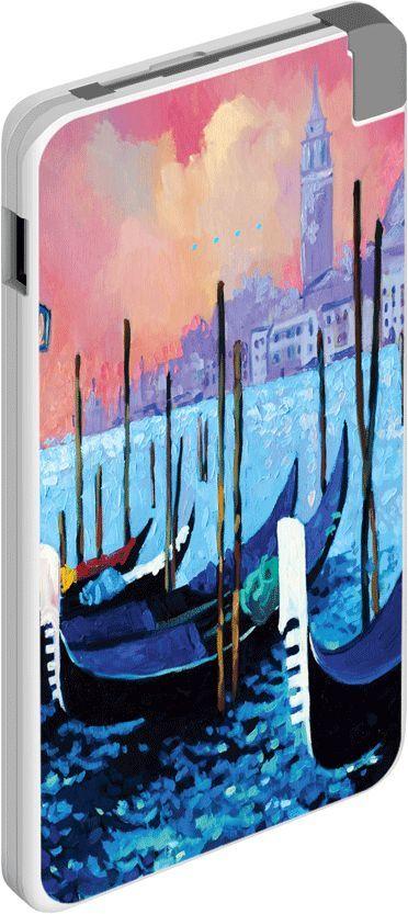 Внешний аккумулятор DEPPA NRG Art_Венеция NRG-SL5000,  5000мAч,  рисунок [301000]