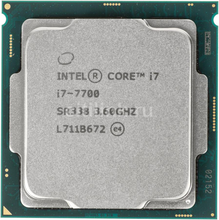Процессор INTEL Core i7 7700, LGA 1151 * OEM [cm8067702868314s r338]
