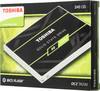 "SSD накопитель TOSHIBA TR200 THN-TR20Z2400U8 240Гб, 2.5"", SATA III вид 7"