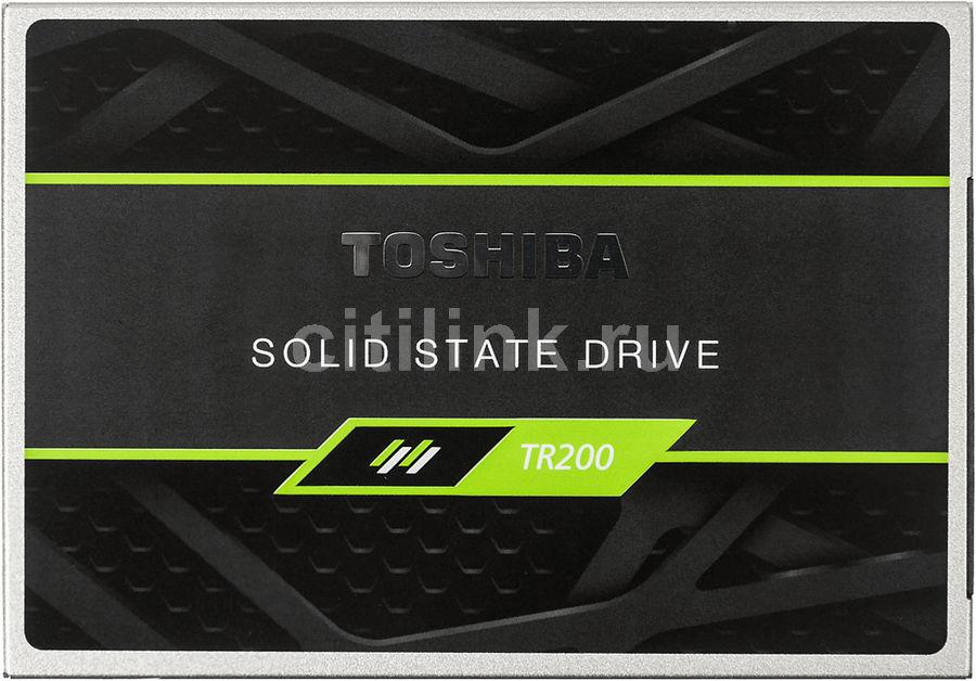 "SSD накопитель TOSHIBA TR200 THN-TR20Z2400U8 240Гб, 2.5"", SATA III"
