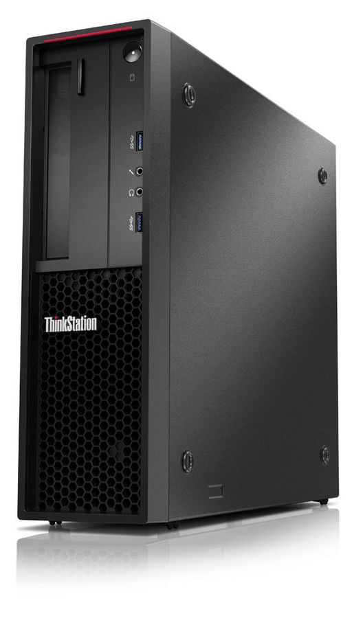 Рабочая станция  LENOVO ThinkStation P320,  Intel  Xeon E3  1245 v6,  DDR4 16Гб, 256Гб(SSD),  Intel HD Graphics P630,  CR,  Windows 10 Professional,  черный [30bjs0bb00]